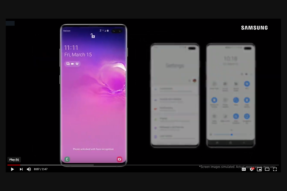 Samsung One UI Intro Video
